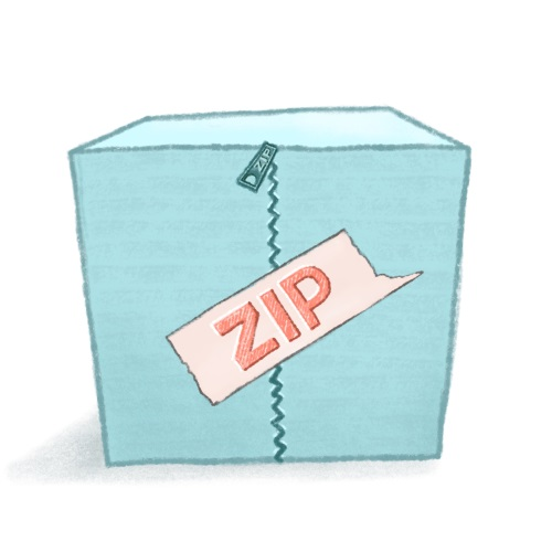 How to unzip a zip file